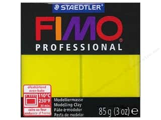 Fimo Professional Clay 3 oz. Lemon