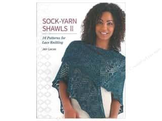 yarn  books: That Patchwork Place Sock-Yarn Shawls II Book by Jen Lucas
