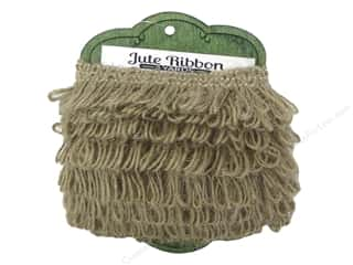 Sierra Pacific Crafts Decor Jute Fringe Natural