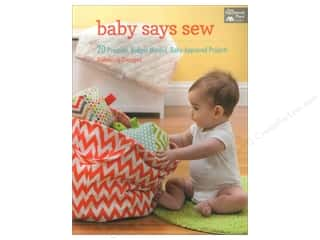 books & patterns: Baby Says Sew: 20 Practical Budget-Minded, Baby-Approved Projects Book by Rebecca Danger