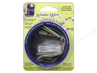 beading & jewelry making supplies: Artistic Wire 3D Bracelet Jig