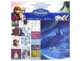 scrapbooking & paper crafts: EK Page Kits Disney Frozen