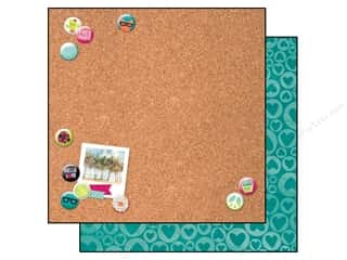 scrapbooking & paper crafts: Bo Bunny 12 x 12 in. Paper Forever Young Collection Besties (25 sheets)