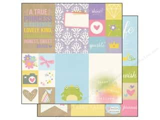 Simple Stories: Simple Stories 12 x 12 in. Paper Enchanted Elements 2 x 2 in & 4 x 6 in. (25 sheets)