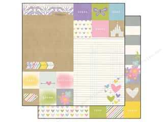 Simple Stories: Simple Stories 12 x 12 in. Paper Enchanted Elements 2 x 2 in. & 6 x 8 in. (25 sheets)