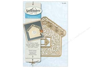 die cuts: Spellbinders Shapeabilities Die Floral Cottage