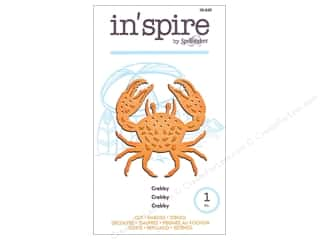 die cutting machines: Spellbinders In Spire Die Crabby