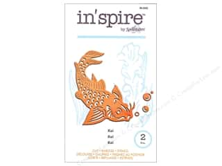 die cutting machines: Spellbinders In Spire Die Koi