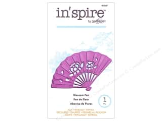 die cutting machines: Spellbinders In Spire Die Blossom Fan