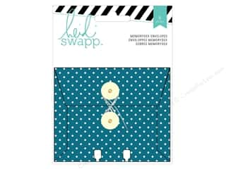 Heidi Swapp Wanderlust Memorydex Envelope Cards 6 pc.