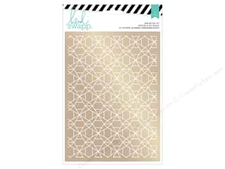 Heidi Swapp Wanderlust Rub On Foil Kit Geometric Gold
