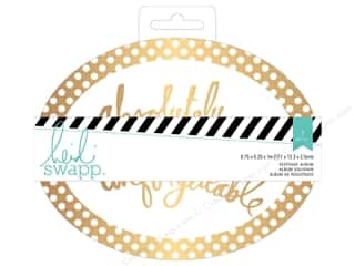 Heidi Swapp Wanderlust Keepsake Album 6 3/4 x 5 1/4 in. Dot Oval