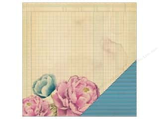 Heidi Swapp Paper 12 x 12 in. Wanderlust Pressed Flowers (25 sheets)