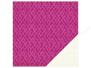 Heidi Swapp Paper 12 x 12 in. Wanderlust Wineberry (25 sheets)