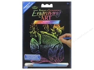 projects & kits: Royal Rainbow Mini Engraving Art Tropical Fish