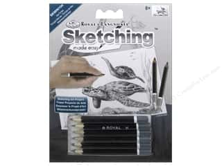 Royal Sketching Made Easy Mini Kit Sea Turtle