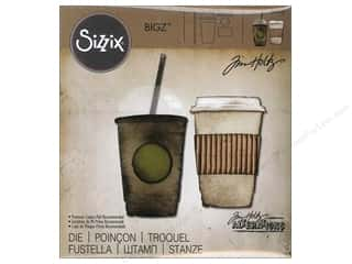 Sizzix Bigz Die Fresh Brewed by Tim Holtz