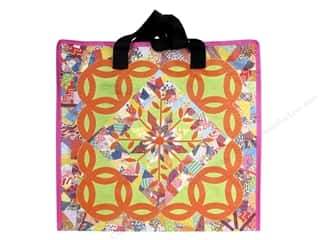 "Mother's Day Gift Ideas: Stash By C&T Tote Double Wedding Ring Eco Bag 15.5""x 15""x 8"""