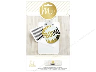 Heidi Swapp Minc Card & Envelopes 4 pc. Boom
