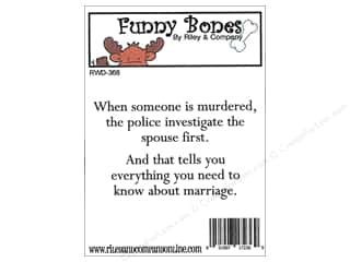 stamps: Riley & Company Cling Stamps Funny Bones Marriage Advice