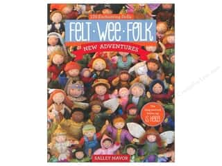 Simple Stories: C&T Publishing Felt Wee Folk Book by Salley Mavor