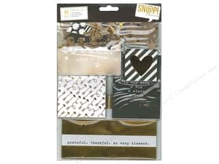 Clearance Coredinations Cardstock Packs: Simple Stories Collection Snap Pack Gold
