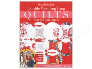 Double Wedding Ring Quilts - Traditions Made Modern Book by Victoria Findlay Wolfe