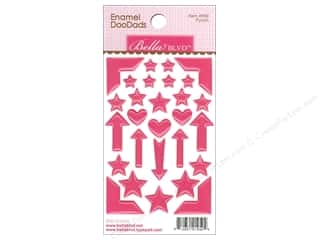 heart punch: Bella Blvd Enamel Doodads Stickers Color Chaos Punch