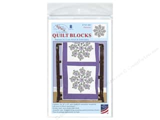 Jack Dempsey 18 in. Quilt Blocks 6 pc. Pansies