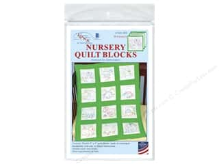 square hoop: Jack Dempsey 9 in. Quilt Blocks 12 pc. Dinosaurs