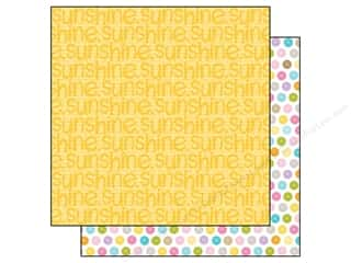 Spring Paper: Bella Blvd 12 x 12 in. Paper Simply Spring Sunshine (25 pieces)