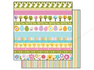 Spring Paper: Bella Blvd 12 x 12 in. Paper Simply Spring Borders (25 pieces)