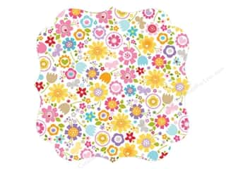 Bella Blvd Invisibles Die-Cut Transparency 12 x 12 in. Simply Spring Awesome Blossom (12 pieces)