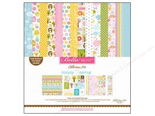 Spring Stickers: Bella Blvd 12 x 12 in. Collection Kit Simply Spring