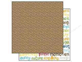 Lakehouse Patterns: Bella Blvd 12 x 12 in. Paper Campout Trail Mix (25 sheets)