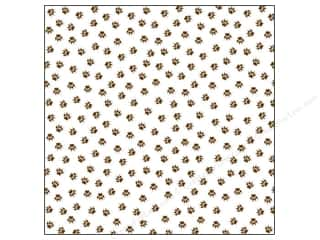 Bella Blvd Clear Cuts Transparency 12 x 12 in. Campout Bear Tracks (12 sheets)