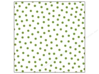 Bella Blvd Clear Cuts Transparency 12 x 12 in. Color Chaos Confetti Guacamole