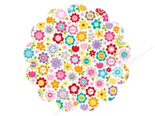 Bella Blvd Invisibles Die-Cut Transparency 12 x 12 in. Color Chaos Flower Fancy