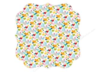 die cuts: Bella Blvd Invisibles Die-Cut Transparency 12 x 12 in. Color Chaos First Love (12 sheets)
