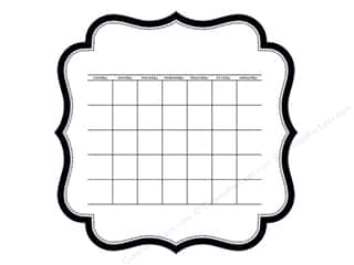 Bella Blvd Invisibles Die-Cut Transparency 12 x 12 in. Color Chaos Calendar