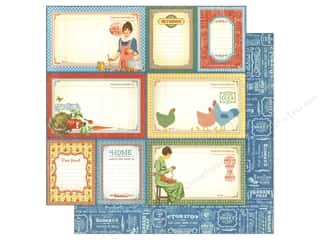 "Holiday Sale Printed Cardstock: Graphic 45 Home Sweet Home Collection Paper 12""x 12"" My Sunshine (25 sheets)"