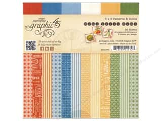 Fall Sale Graphic 45: Graphic 45 6 x 6 in. Paper Pad Home Sweet Home Patterns & Solids