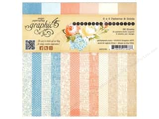 Everything You Love Sale Graphic 45 Paper Pad: Graphic 45 6 x 6 in. Paper Pad Precious Memories