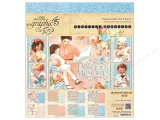 Everything You Love Sale Graphic 45 Paper Pad: Graphic 45 8 x 8 in. Paper Pad Precious Memories