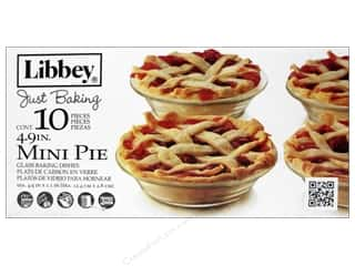 Crisa by Libbey Glass Just Baking Mini Pie Dish 4 15/16 in. 10 pc.