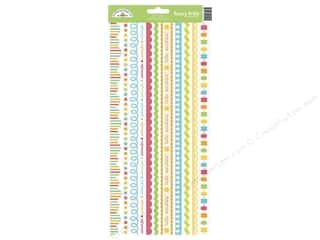 stickers: Doodlebug Sticker Sunkissed Fancy Frill (12 sets)