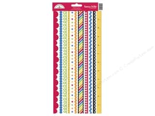 Theme Stickers / Collection Stickers: Doodlebug Back To School Collection Stickers Fancy Frill (12 sets)