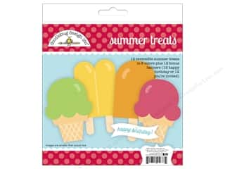 scrapbooking & paper crafts: Doodlebug Paper Craft Kit Sunkissed Summer Treats