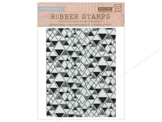 Rubber Stamps: BasicGrey Rubber Stamp Prism Triangle Background