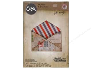 dies: Sizzix Movers & Shapers Magnetic Die Large Envelope by Tim Holtz